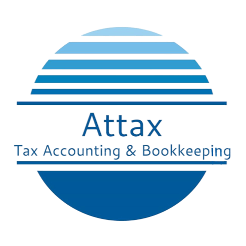 bribie island tax office attax logo